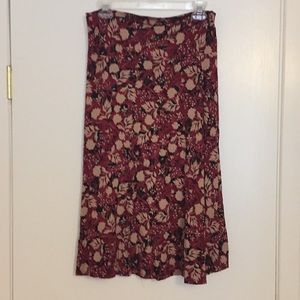 L Lularoe Azure Skirt